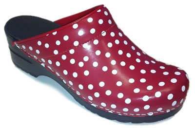 Fun Polka Dots Clogs for Women
