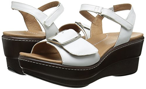 Comfortable Platform Leather Sandals for Walking
