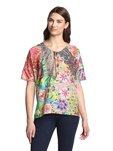 Floral Cotton Blouse for Women