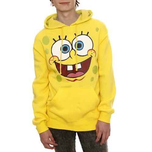 Spongebob Squarepants Face Hoodie
