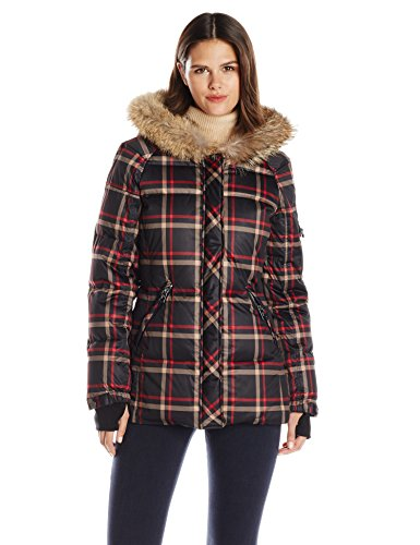 Cute Plaid Winter Coat for Women