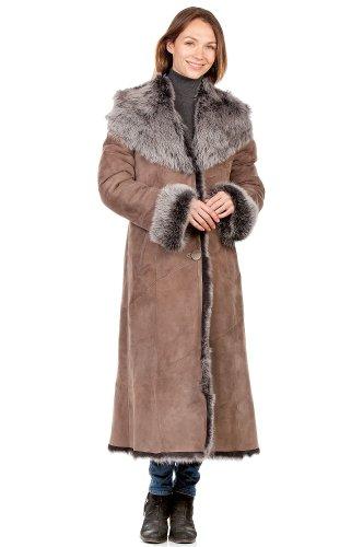 Stylish Hooded Toscana Sheepskin Coat