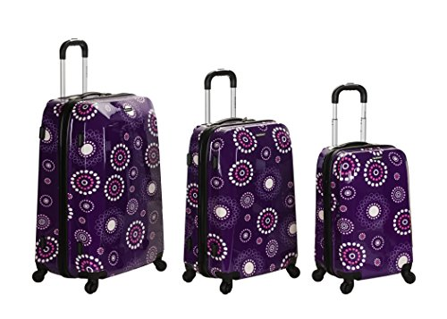 Cute Purple Luggage Set