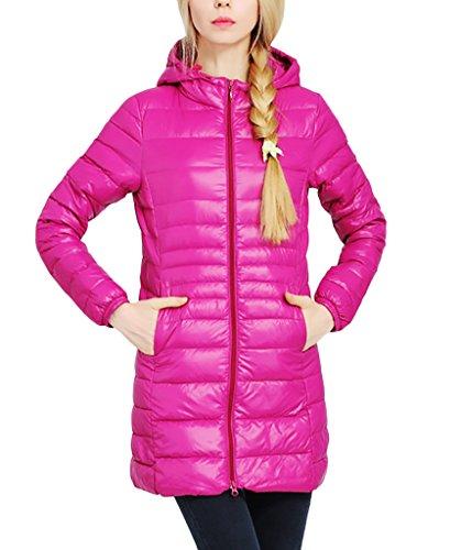 Bubblegum PINK Polyester Coat