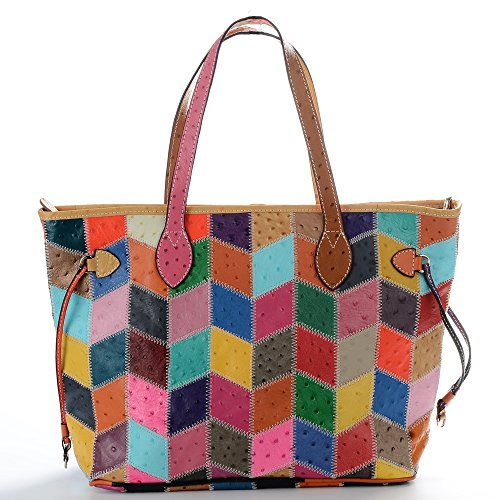 Girly Leather Tote
