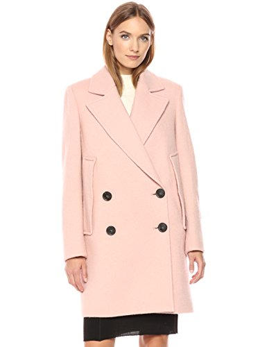 fancy pink coat for women