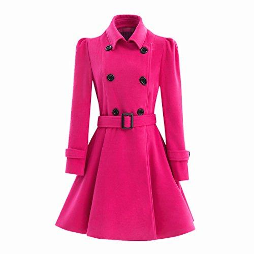 hot pink girly coat
