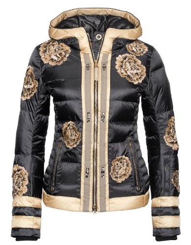 cute floral ski jacket for women