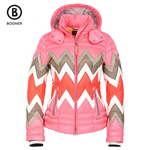 pink ski jacket for women