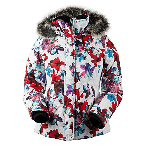 Floral Ski Jacket for Women