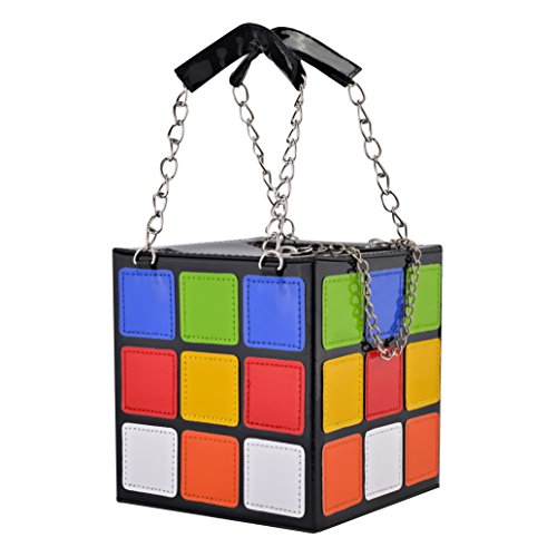 Colorful Magic Cube Novelty Bag