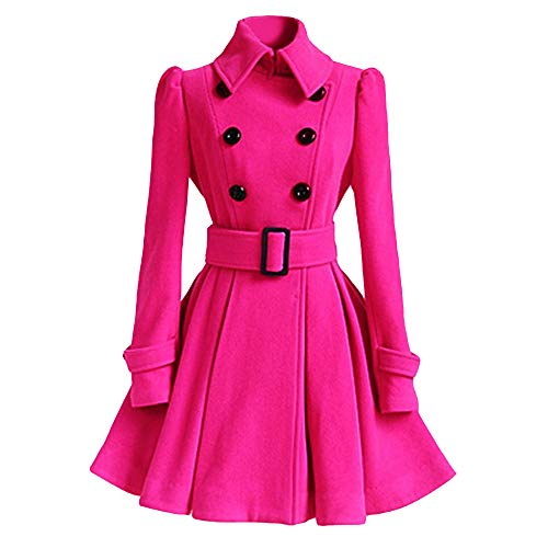 cheap hot pink coat for women